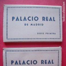 Postales: PALACIO REAL.-MADRID.-HELIOTIPIA ARTISTICA ESPAÑOLA.-MADRID.-BLOC DE POSTALES.-POSTALES.. Lote 160474742