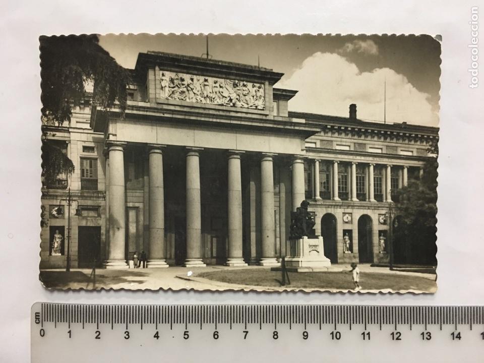 POSTAL. MADRID. MUSEO DEL PRADO. PORTADA PRINCIPAL. EDIC. GARCÍA GARRABELLA. H. 1958?. (Postales - España - Madrid Moderna (desde 1940))
