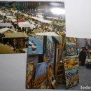 Postales: LOTE POSTALES MADRID EL RASTRO -CIRCULADAS. Lote 160570094