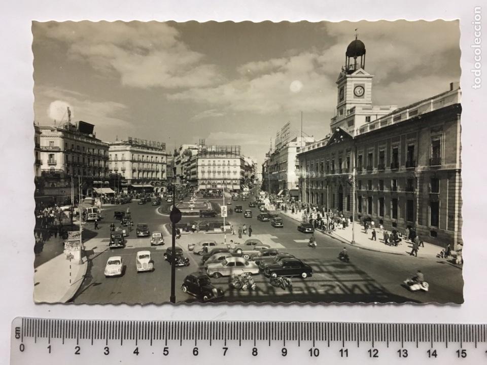 POSTAL. MADRID. PUERTA DEL SOL. EDIC. GARCÍA GARRABELLA Y CÍA. H. 1955?. (Postales - España - Madrid Moderna (desde 1940))