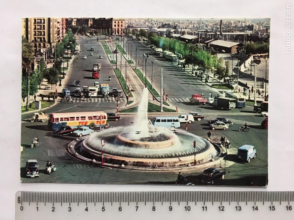 POSTAL. MADRID. PLAZA DE CARLOS V. FUENTE. H. A. E., MADRID. H. 1960?. (Postales - España - Madrid Moderna (desde 1940))