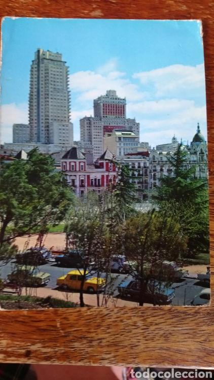 MADRID. PARQUE DE LA MONTAÑA Y PLAZA DE ESPAÑA. CÍRCULO (Postales - España - Madrid Moderna (desde 1940))
