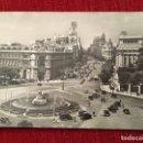 Postales: P0889 POSTAL CIRCULADA MADRID LAS CIBELES Y CALLE ALCALA #11. Lote 160630222