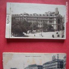 Postales: MADRID.-HUECOGRABADO HAUSER Y MENET.-FOTOTIPIA J. ROIG.-BLOC DE POSTALES.-POSTALES.-MADRID.. Lote 160721962
