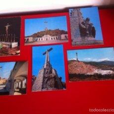 Postales: VALLE DE LOS CAÍDOS. LOTE 6 POSTALES AÑOS 70. Lote 160937996
