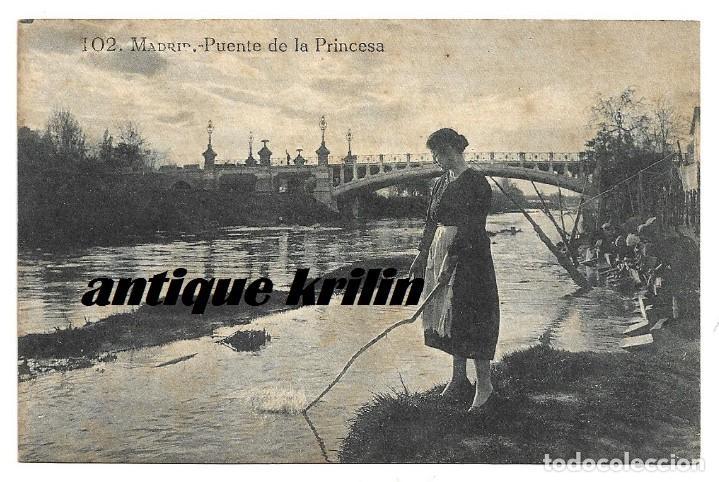 MADRID Nº 102 PUENTE DE LA PRINCESA .- EDICION GRAFOS (Postales - España - Comunidad de Madrid Antigua (hasta 1939))