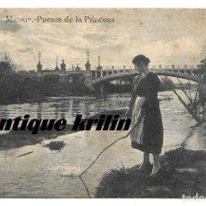 Postales: MADRID Nº 102 PUENTE DE LA PRINCESA .- EDICION GRAFOS . Lote 160978402