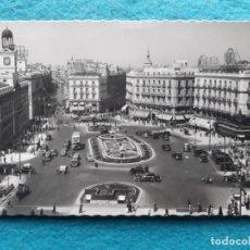 Postales: MADRID. PUERTA DEL SOL. FRANQUEADA EL 12 DE SEPTIEMBRE DE 1960.. Lote 161230214