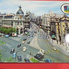Postales: MADRID. AVENIDA DE JOSÉ ANTONIO 1968. Lote 161405182