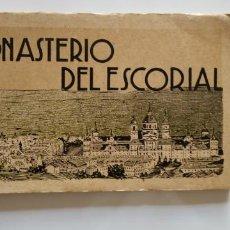 Postales: ALBUM FOTOGRAFÍAS DEL MONASTERIO DEL ESCORIAL. Lote 161467870