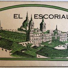 Postales: 5 POSTALES EL ESCORIAL AÑOS 50. HELIOTIPIA ARTISTICA. Lote 161532429