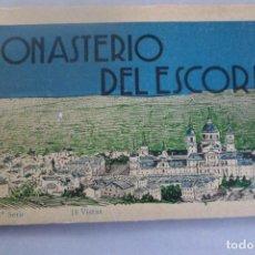 Postales: MONASTERIO DEL ESCORIAL 3ª SERIE 18 VISTAS POSTALES. L. ROISIN FOTÓGRAFO. Lote 163104038