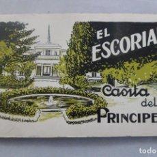 Postales: EL ESCORIAL. CASITA DEL PRÍNCIPE. 18 VISTAS POSTALES. L. ROISIN FOTÓGRAFO. Lote 163105734
