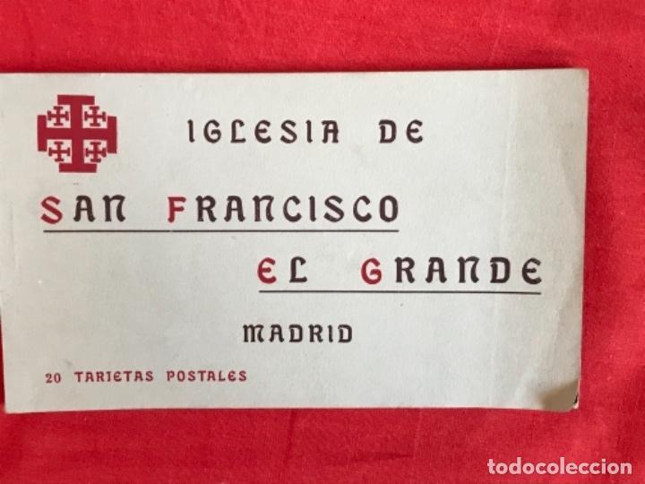 IGLESIA DE SAN FRANCISCO EL GRANDE . MADRID . BLOCK 20 POSTALES . HAUSER Y MENET . (Postales - España - Comunidad de Madrid Antigua (hasta 1939))