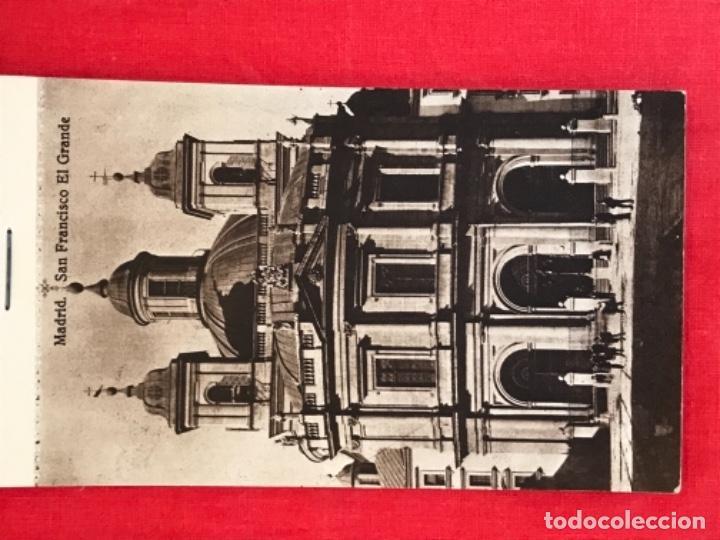 Postales: IGLESIA DE SAN FRANCISCO EL GRANDE . MADRID . BLOCK 20 POSTALES . HAUSER Y MENET . - Foto 2 - 163479674