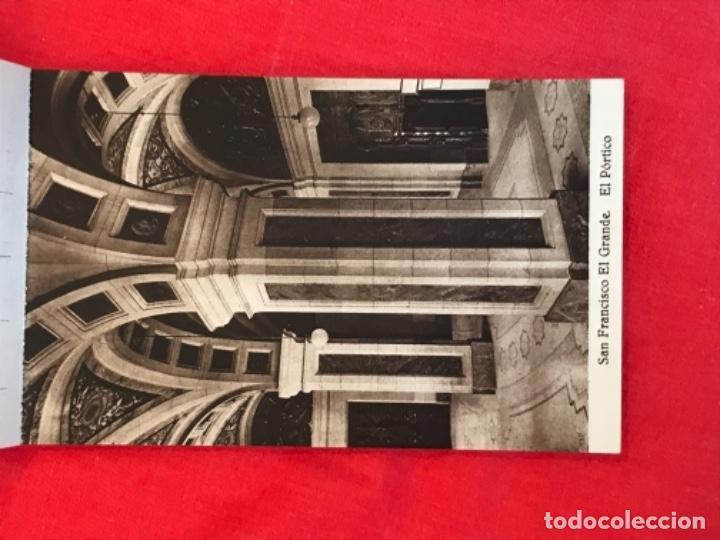 Postales: IGLESIA DE SAN FRANCISCO EL GRANDE . MADRID . BLOCK 20 POSTALES . HAUSER Y MENET . - Foto 4 - 163479674