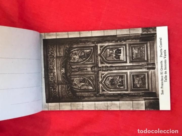 Postales: IGLESIA DE SAN FRANCISCO EL GRANDE . MADRID . BLOCK 20 POSTALES . HAUSER Y MENET . - Foto 5 - 163479674