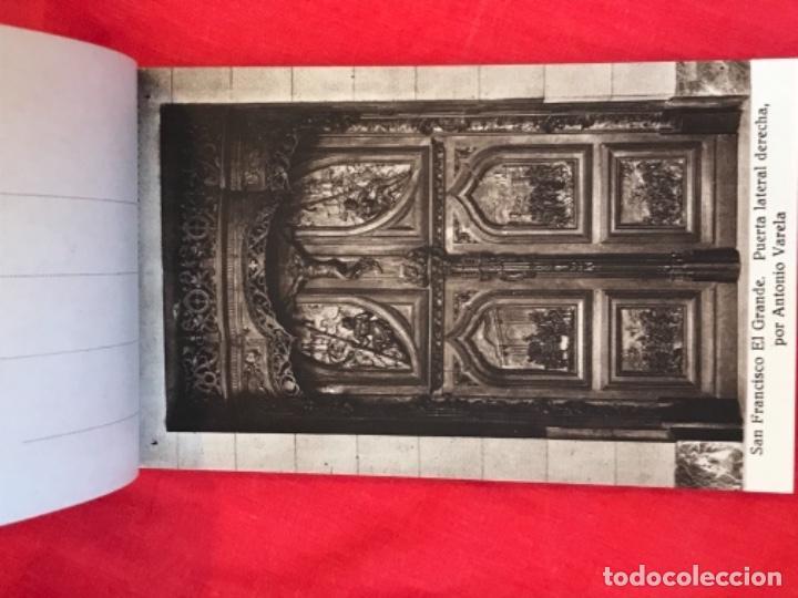 Postales: IGLESIA DE SAN FRANCISCO EL GRANDE . MADRID . BLOCK 20 POSTALES . HAUSER Y MENET . - Foto 6 - 163479674