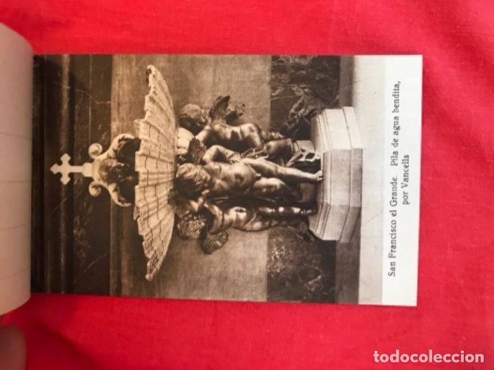 Postales: IGLESIA DE SAN FRANCISCO EL GRANDE . MADRID . BLOCK 20 POSTALES . HAUSER Y MENET . - Foto 8 - 163479674
