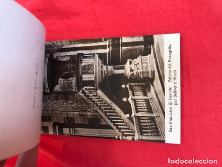 Postales: IGLESIA DE SAN FRANCISCO EL GRANDE . MADRID . BLOCK 20 POSTALES . HAUSER Y MENET . - Foto 14 - 163479674