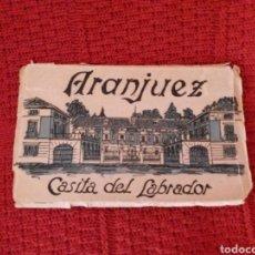 Postales: POSTALES CASITA DEL LABRADOR -ARANJUEZ- HELIOTIPIA ARTISTICA ESPAÑOLA. Lote 163843553