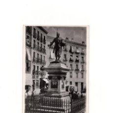 Postales: MADRID.- MONUMENTO A ELOY GONZALO, EL HÉROE DE CASCORRO. POSTAL FOTOGRÁFICA.FOTO PALOMEQUE.. Lote 164571450