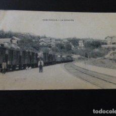 Postales: CERCEDILLA MADRID LA ESTACION. Lote 164620770