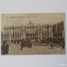 Postales: ANTIGUA POSTAL DE MADRID - PALACIO REAL - PALACIO DE LA ARMERIA. Lote 164655782