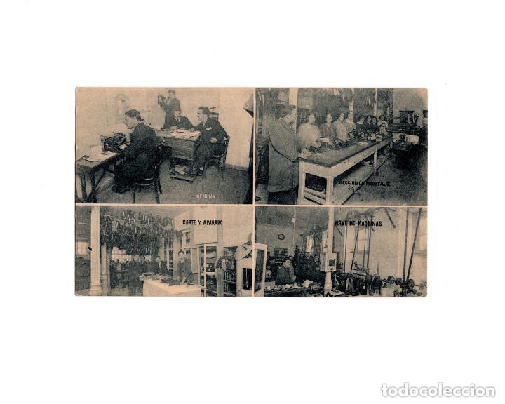 MADRID.- BERMAN. FÁBRICA DE CALZADO. (Postales - España - Comunidad de Madrid Antigua (hasta 1939))
