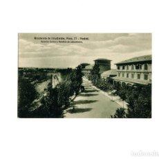 Postales: MADRID.- RESIDENCIA DE ESTUDIANTES MADRID, PINAR 17. PABELLON CENTRAL Y PABELLON DE LABORATORIOS. Lote 164901498
