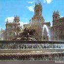 Postales: LA CIBELES Y PALACIO DE COMUNICACIONES. MADRID.. Lote 165093654