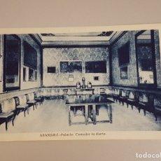 Postales: ARANJUEZ MADRID PALACIO COMEDOR DE DIARIO. Lote 165291466