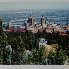 Postales: POSTAL MONASTERIO DEL ESCORIAL VISTA GENERAL. Lote 166097132