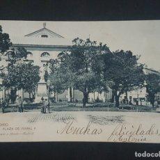 Postales: MADRID PLAZA DE ISABEL II. Lote 166130018