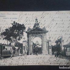 Postales: MADRID PUERTA DE HIERRO. Lote 166130958