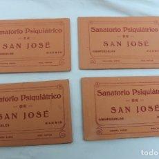 Postales: SANATORIO PSIQUIATRICO DE SAN JOSE, CIEMPOZUELOS, MADRID 4 SERIES COMPLETAS, 40 P. DIFERENTES. Lote 166319774