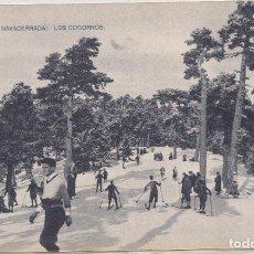 Postales: PUERTO DE NAVACERRADA (MADRID ) - LOS COGORROS. Lote 166745110