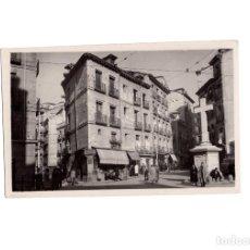 Postales: MADRID.- PLAZA PUERTA CERRADA.. Lote 166846454