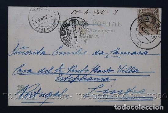 Postales: POSTAL MADRID CORONACION ALFONSO XIII ULTIMOS PREPARATIVOS EN EL CONGRESO A CANOVAS 7 HAUSER Y MENET - Foto 3 - 167161812