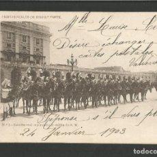 Postales: MADRID-FIESTAS REALES 1902 1903-1-FOT·LAURENT-VER REVERSO SIN DIVIDIR-(60.004). Lote 167172092