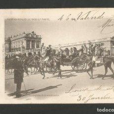 Postales: MADRID-FIESTAS REALES 1902 1903-2-FOT· LAURENT-VER REVERSO SIN DIVIDIR-(60.005). Lote 167172172