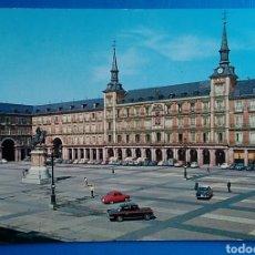 Cartoline: POSTAL 105 MADRID PLAZA MAYOR GARCIA GARRABELLA. Lote 167733641