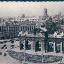 Postales: POSTAL MADRID - PANORAMICA DE LA PUERTA DE ALCALA - GARRABELLA 255 - CIRCULADA. Lote 168039612
