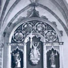 Postales: GALAPAGAR POSTAL FOTOGRAFICA IGLESIA PARROQUIAL EL ALTAR MAYOR VISTABELLA SIN CICULAR P. Lote 168402580