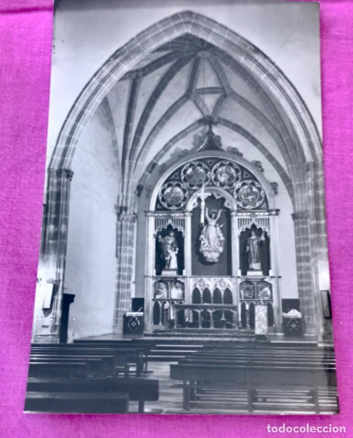 Postales: galapagar postal fotografica iglesia parroquial el altar mayor vistabella sin cicular p - Foto 2 - 168402580