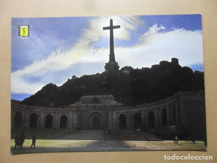 POSTAL - 36 - SANTA CRUZ DEL VALLE DE LOS CAIDOS (MADRID) - FACHADA CONTRALUZ - PATRIMONIO NACIONAL (Postales - España - Madrid Moderna (desde 1940))