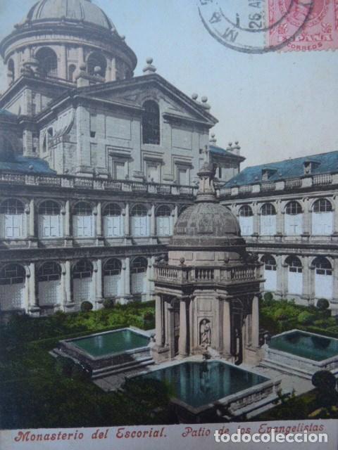 MADRID , ESCORIAL (Postales - España - Comunidad de Madrid Antigua (hasta 1939))