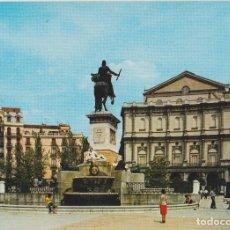 Cartoline: MADRID, PLAZA DE ORIENTE, TEATRO REAL -ESCUDO DE ORO Nº217 - ESCRITA. Lote 169101120