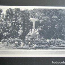 Postales: POSTAL MADRID. JUEGOS E LOS NIÑOS EN LOS PARQUES DE MADRID. EL RETIRO. FUENTE DELFINES. HEMOSTYL . Lote 169179512