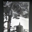 Postales: POSTAL PUERTO DE NAVACERRADA. RESIDENCIA JOSÉ ANTONIO. CIRCULADA. AÑO 1963. . Lote 169179580